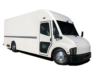 White Workhorse C1000 electric delivery van