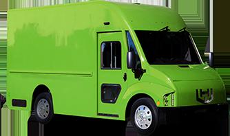 Green Workhorse C650 electric delivery van